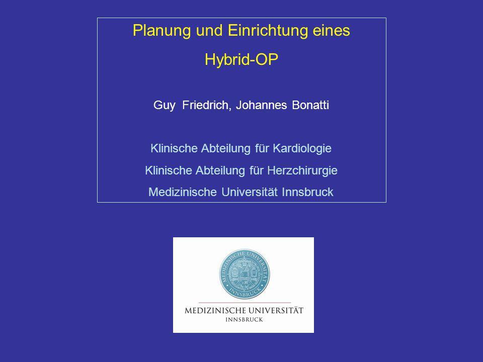 Planung und Einrichtung eines Hybrid-OP