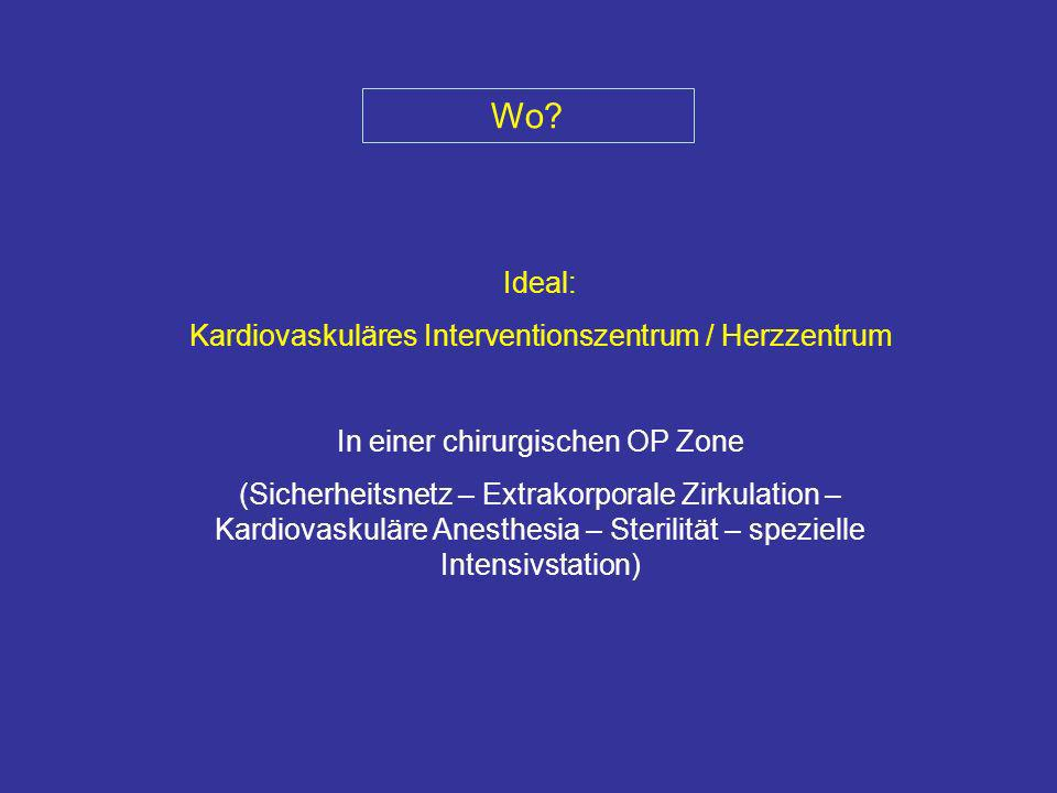 Wo Ideal: Kardiovaskuläres Interventionszentrum / Herzzentrum