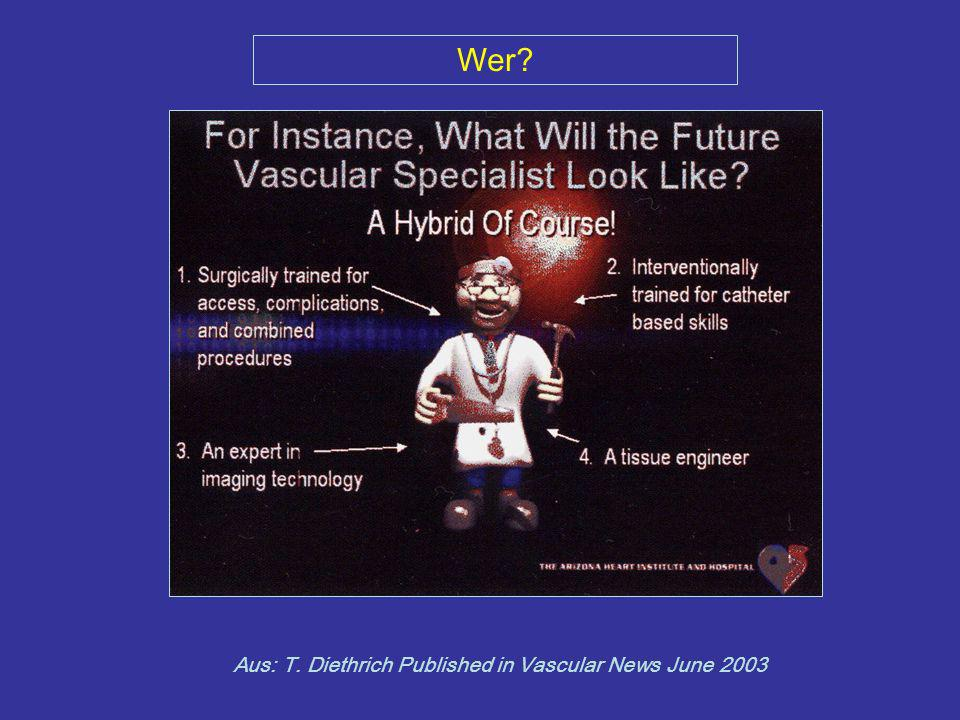 Wer Aus: T. Diethrich Published in Vascular News June 2003