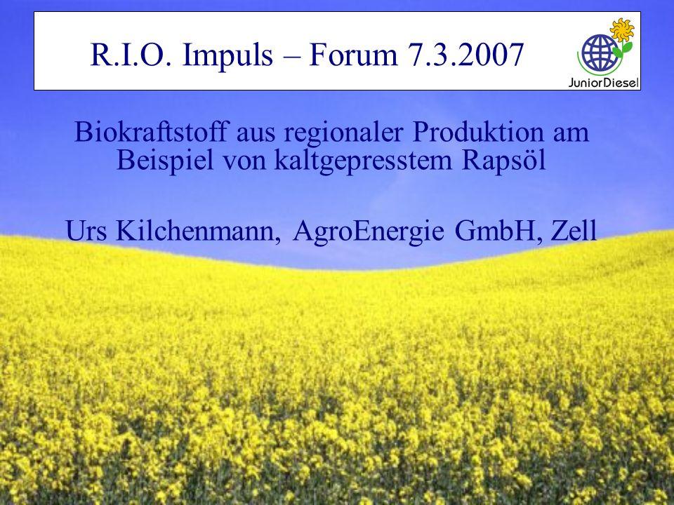 Urs Kilchenmann, AgroEnergie GmbH, Zell