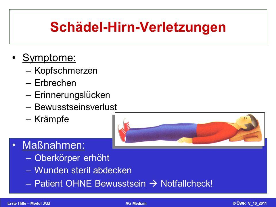 Schädel-Hirn-Verletzungen