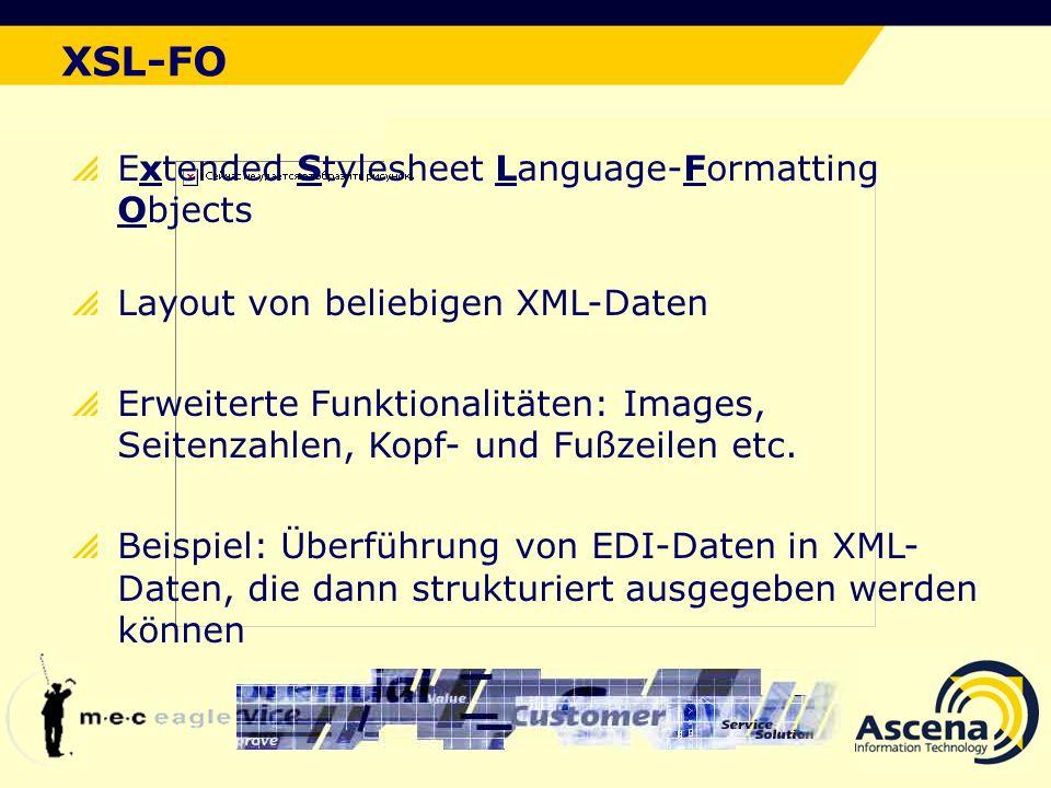 XSL-FO Der ideale Lösungsansatz