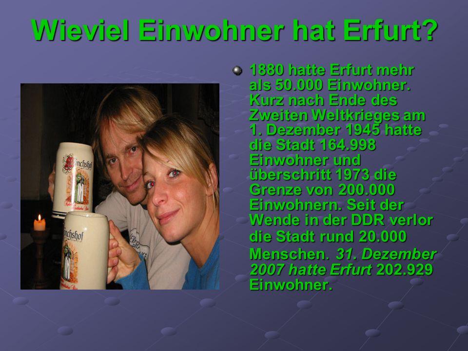Wieviel Einwohner hat Erfurt