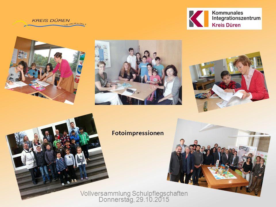 Vollversammlung Schulpflegschaften Donnerstag, 29.10.2015