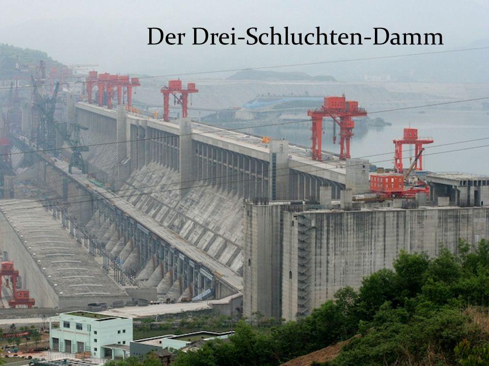 Der Drei-Schluchten-Damm