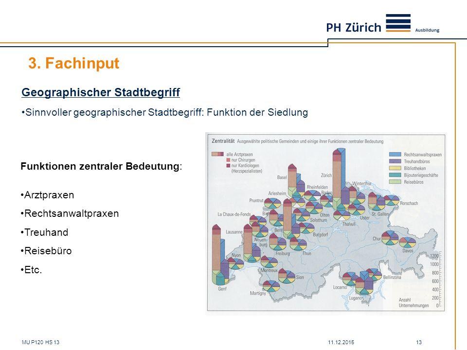 3. Fachinput Geographischer Stadtbegriff