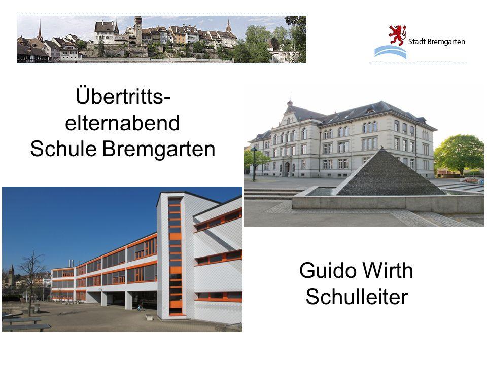 Übertritts-elternabend Schule Bremgarten