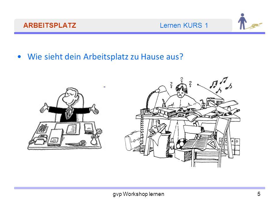 ARBEITSPLATZ Lernen KURS 1