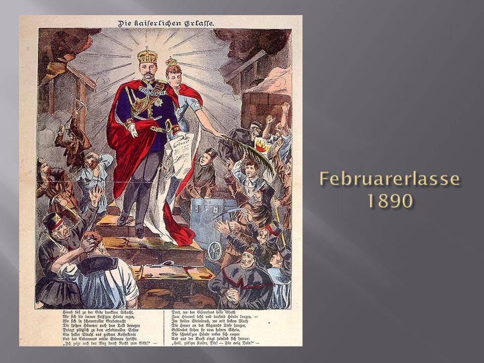 Februarerlasse 1890