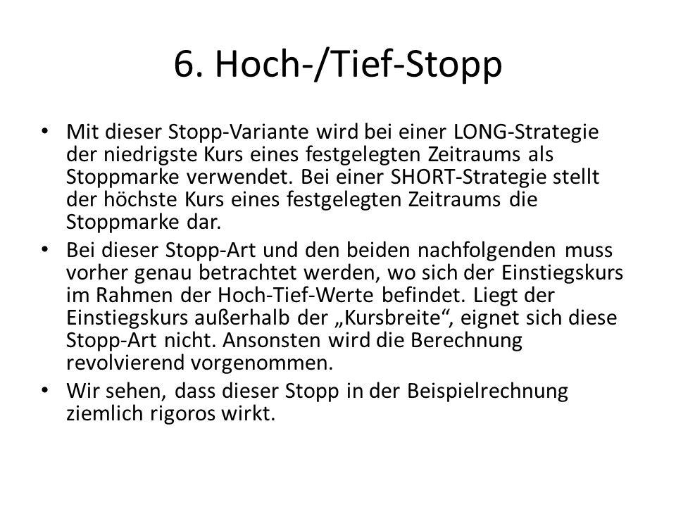 6. Hoch-/Tief-Stopp