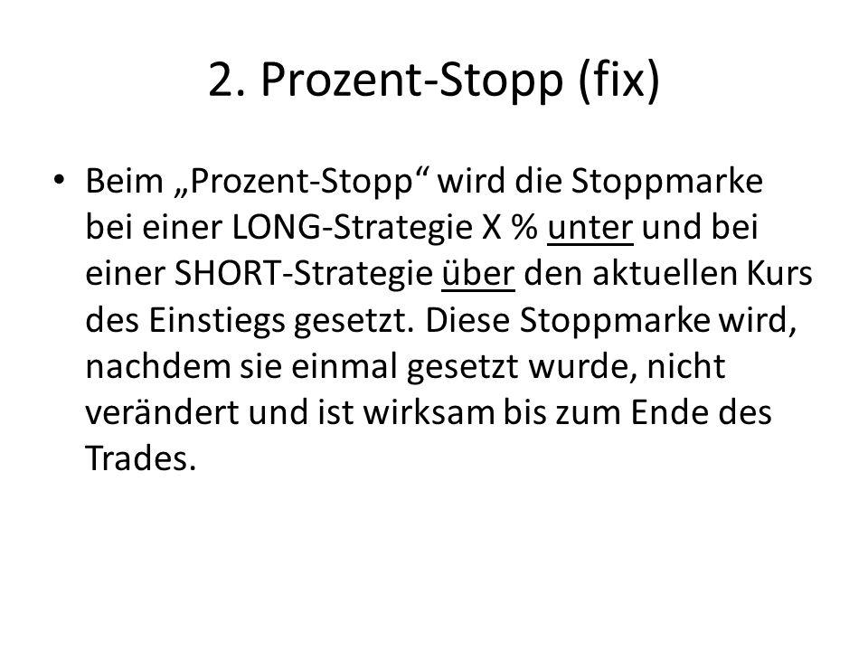 2. Prozent-Stopp (fix)