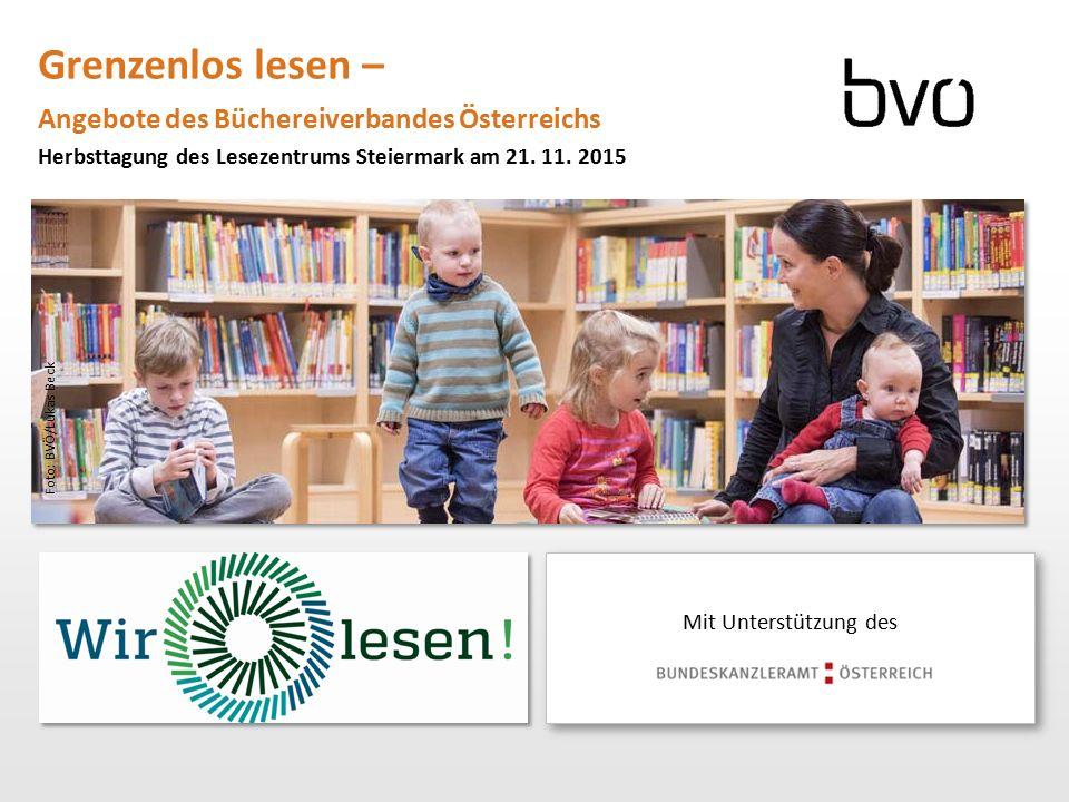 Grenzenlos lesen – Angebote des Büchereiverbandes Österreichs