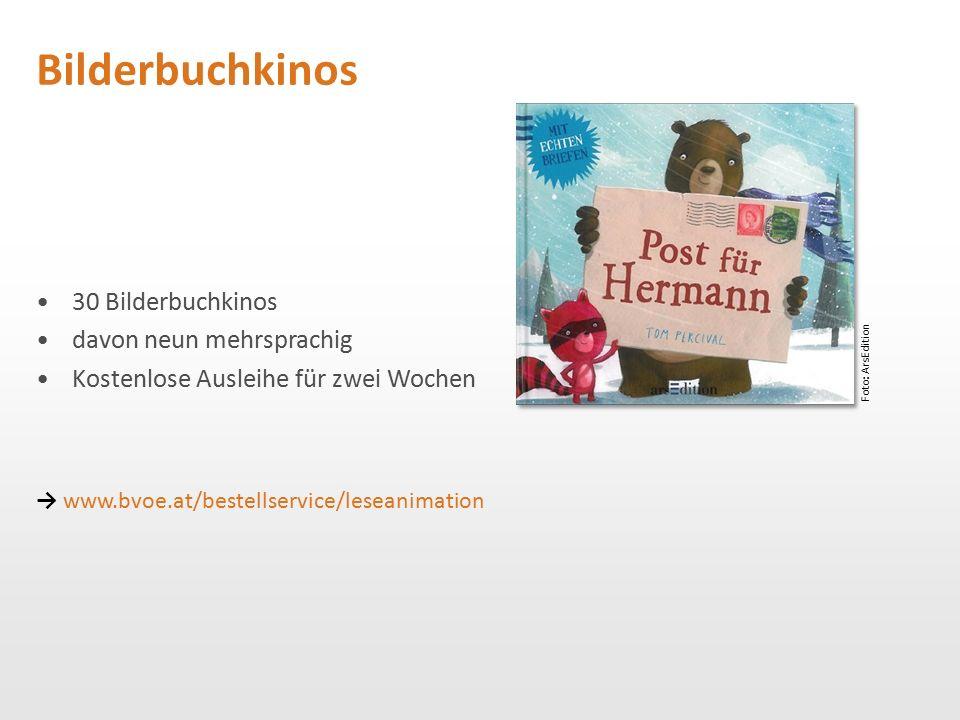 Bilderbuchkinos 30 Bilderbuchkinos davon neun mehrsprachig