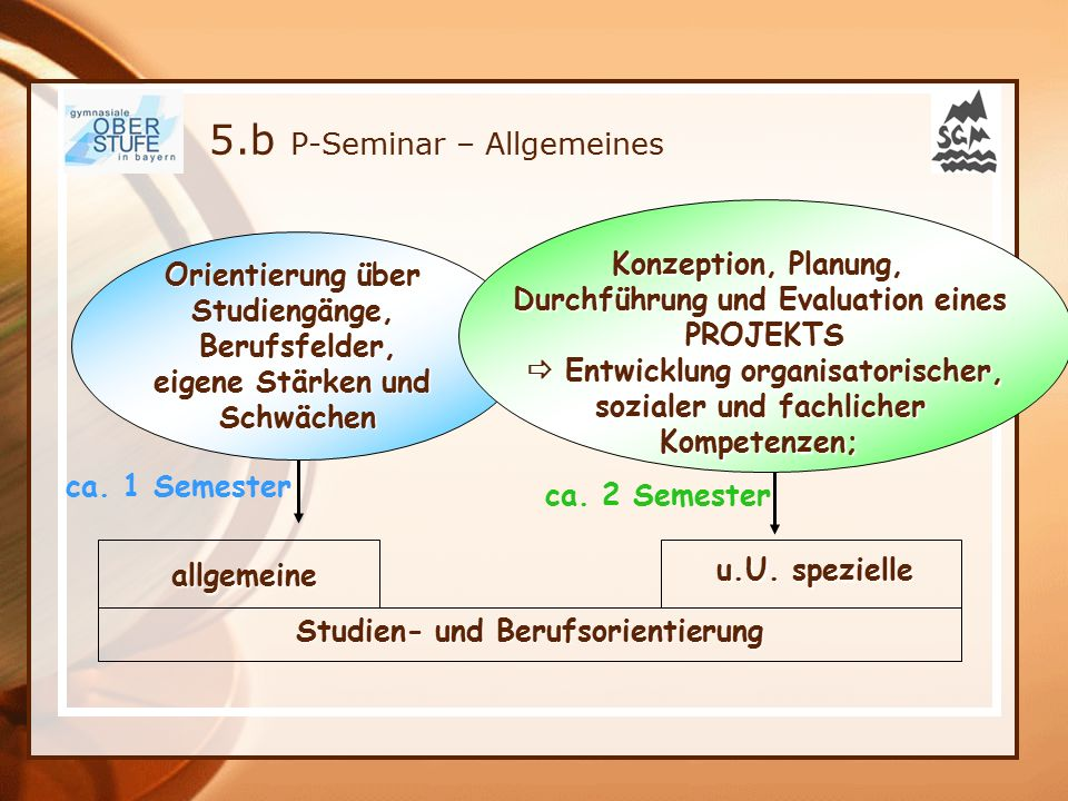 5.b P-Seminar – Allgemeines