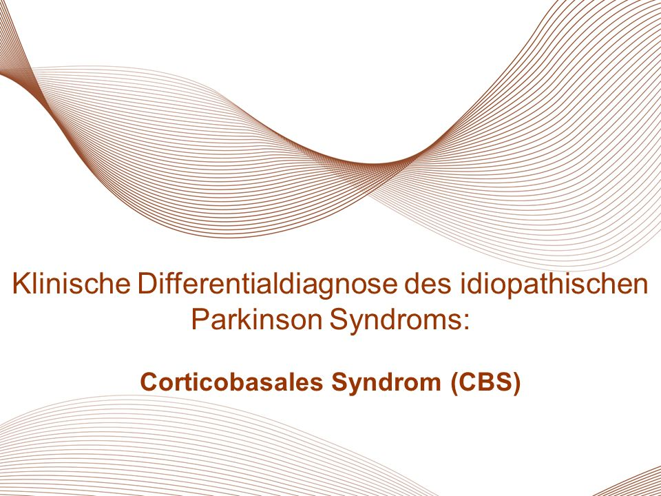 Corticobasales Syndrom (CBS)
