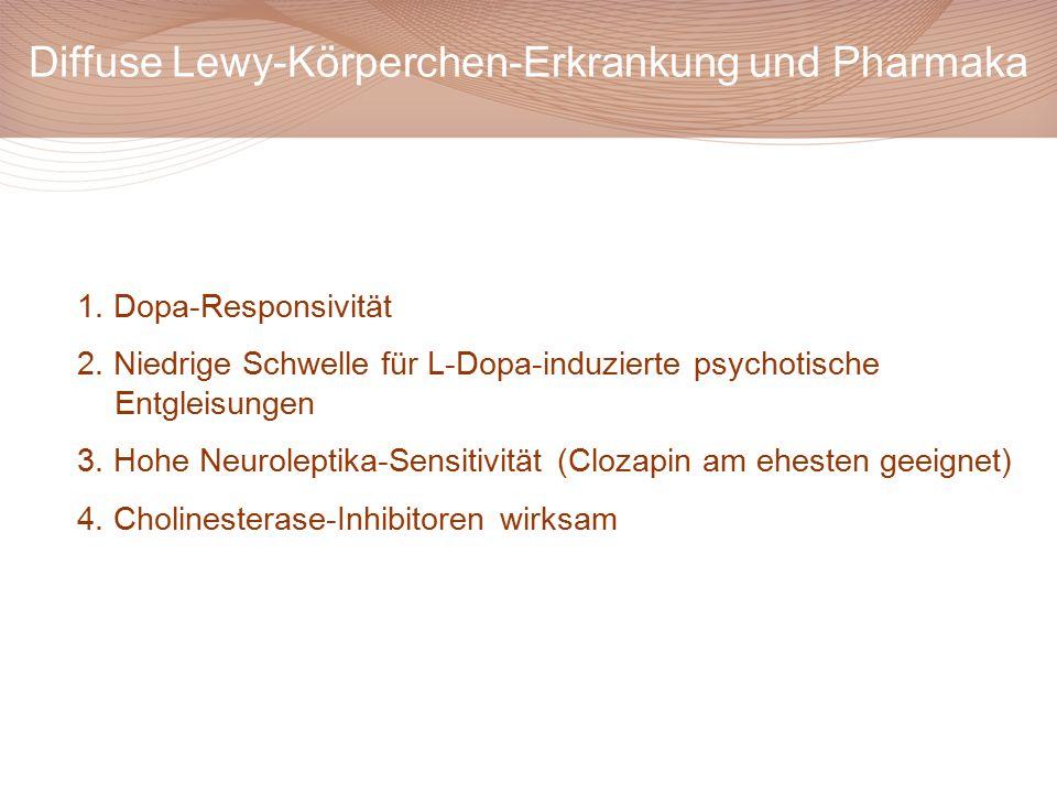 Diffuse Lewy-Körperchen-Erkrankung und Pharmaka