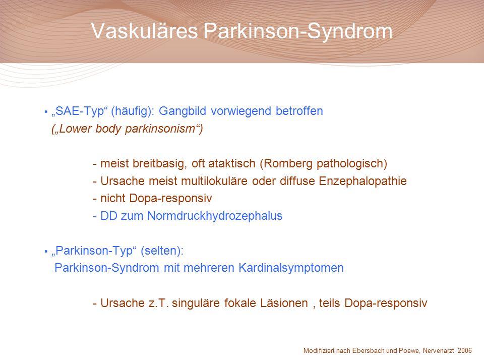 Vaskuläres Parkinson-Syndrom