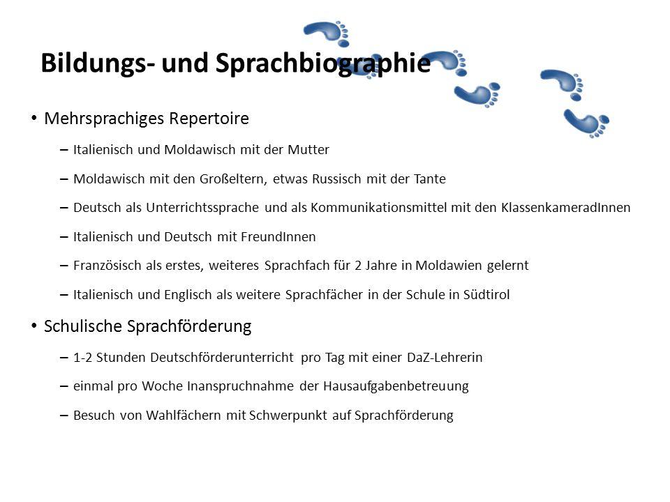 Bildungs- und Sprachbiographie