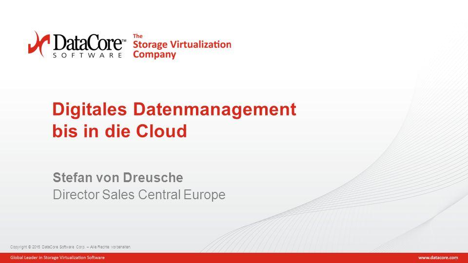 Digitales Datenmanagement bis in die Cloud