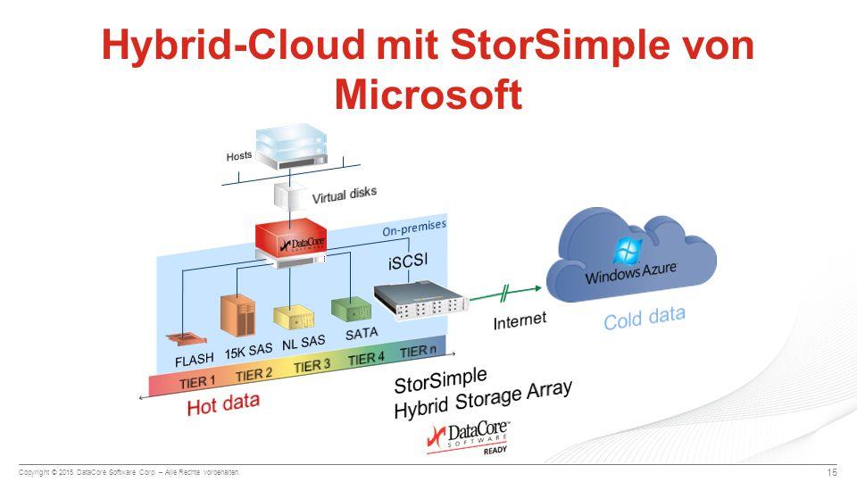 Hybrid-Cloud mit StorSimple von Microsoft