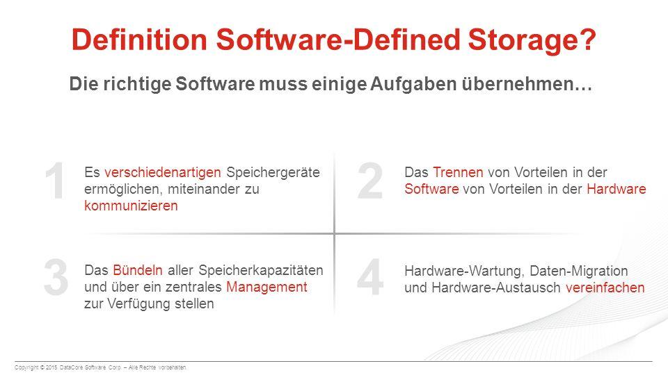Definition Software-Defined Storage
