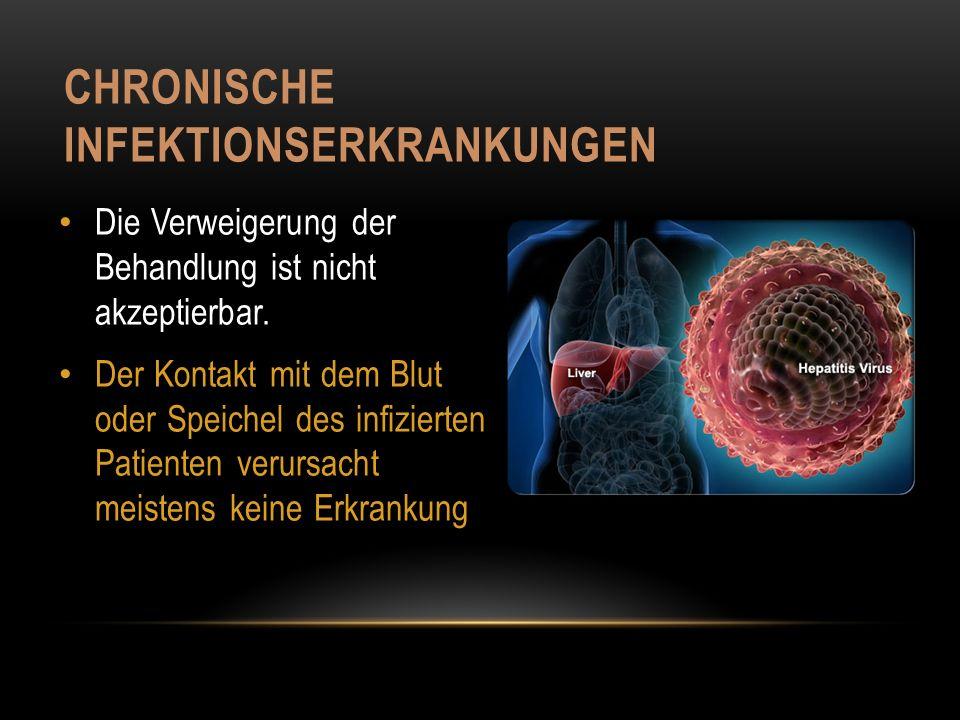 Chronische Infektionserkrankungen