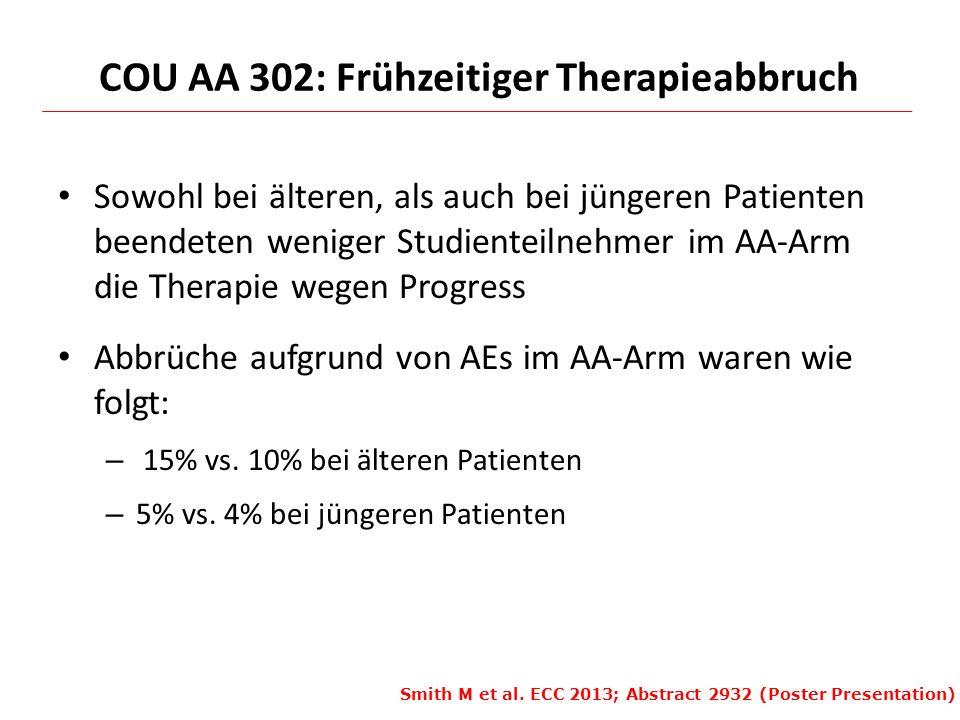 COU AA 302: Frühzeitiger Therapieabbruch