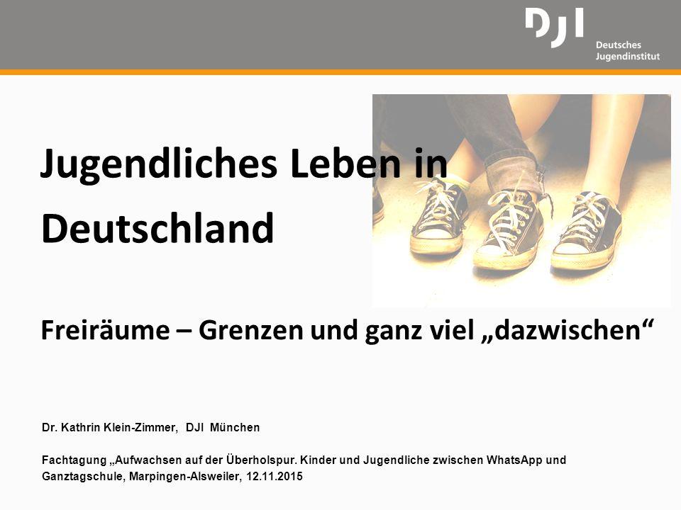 Jugendliches Leben in Deutschland