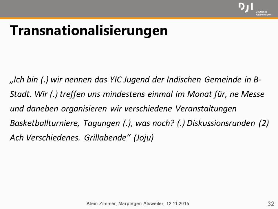 Transnationalisierungen