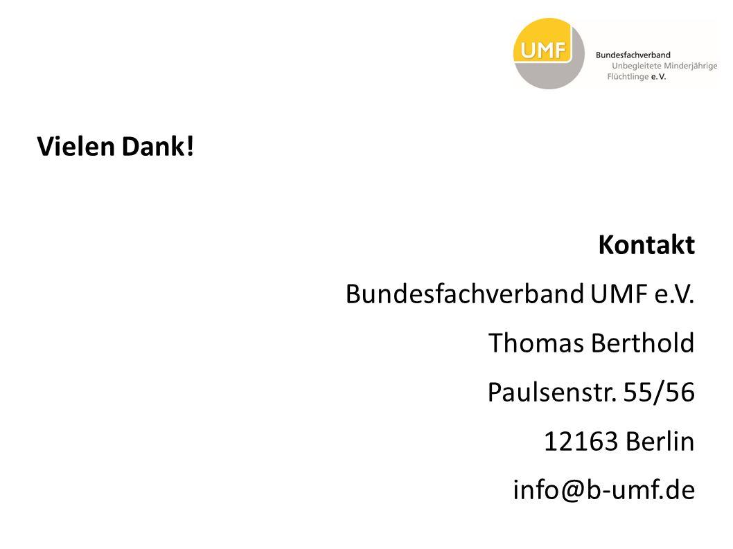 Vielen Dank. Kontakt Bundesfachverband UMF e. V