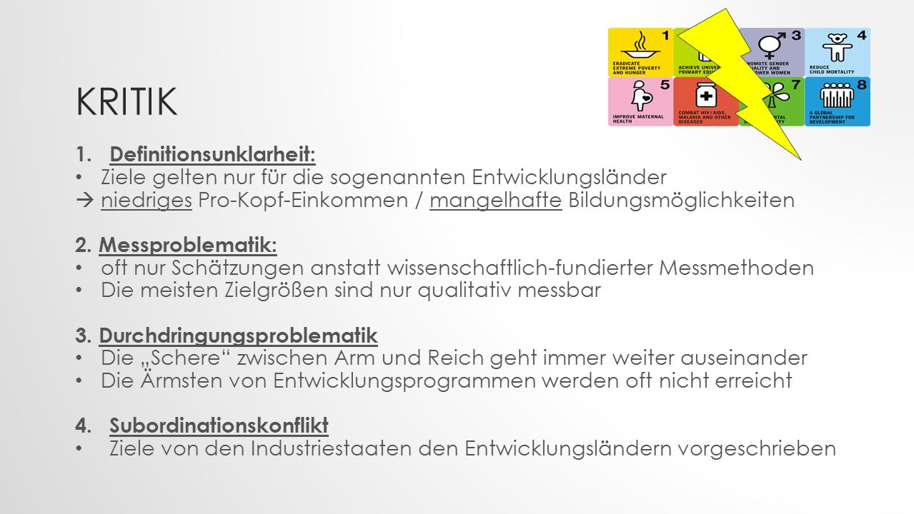 Kritik Definitionsunklarheit: