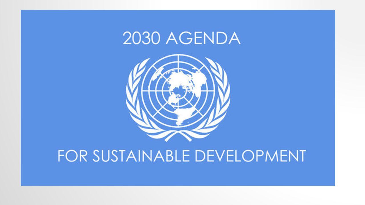 Am 25. September 2015 wurde auf dem UN-Gipfel in New York die Agenda 2030 für nachhaltige Entwicklung verabschiedet.