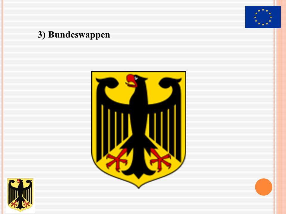 3) Bundeswappen