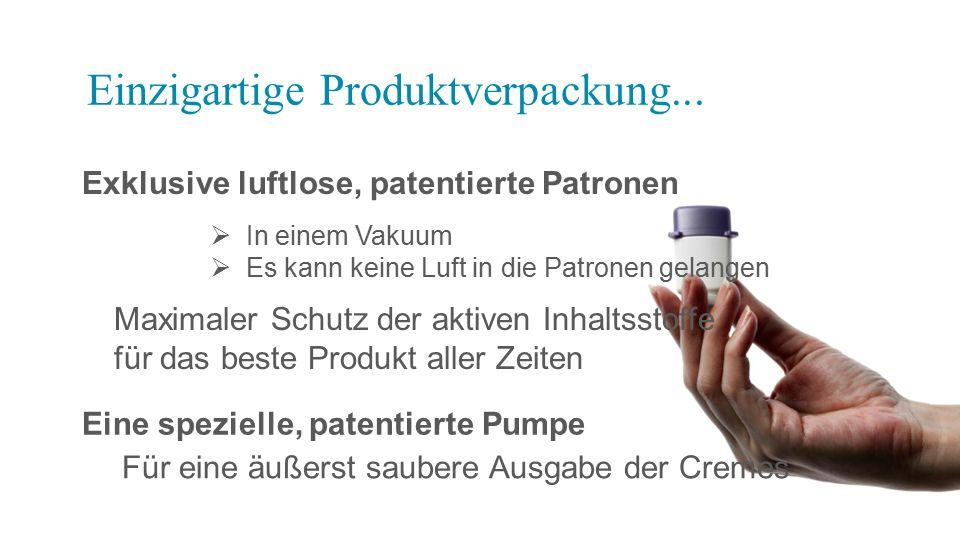 Einzigartige Produktverpackung...
