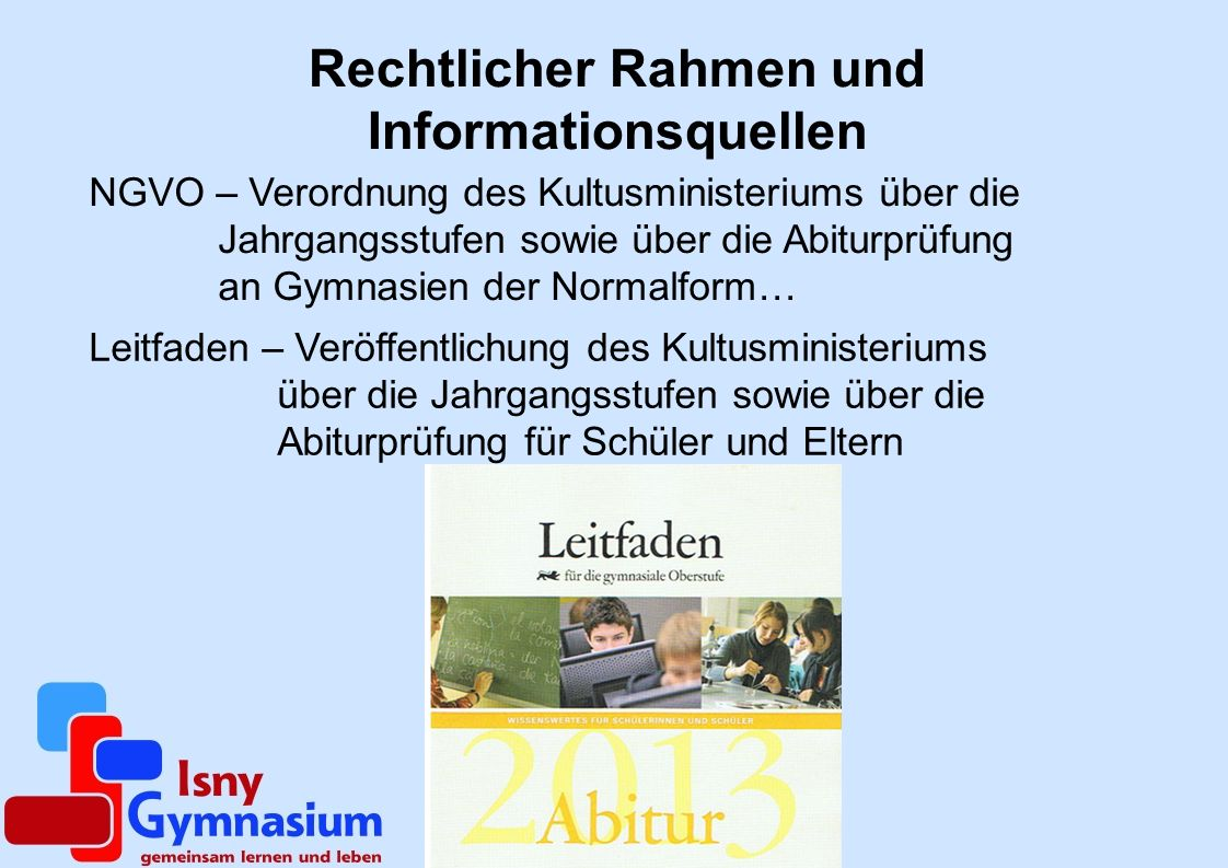 Rechtlicher Rahmen und Informationsquellen