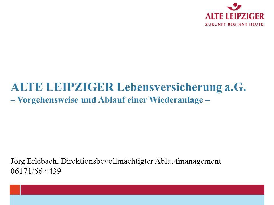 ALTE LEIPZIGER Lebensversicherung a.G.