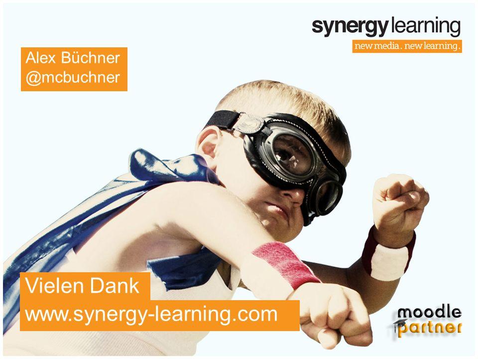 Alex Büchner @mcbuchner Vielen Dank www.synergy-learning.com