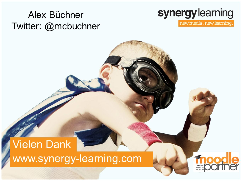 Alex Büchner Twitter: @mcbuchner Vielen Dank www.synergy-learning.com