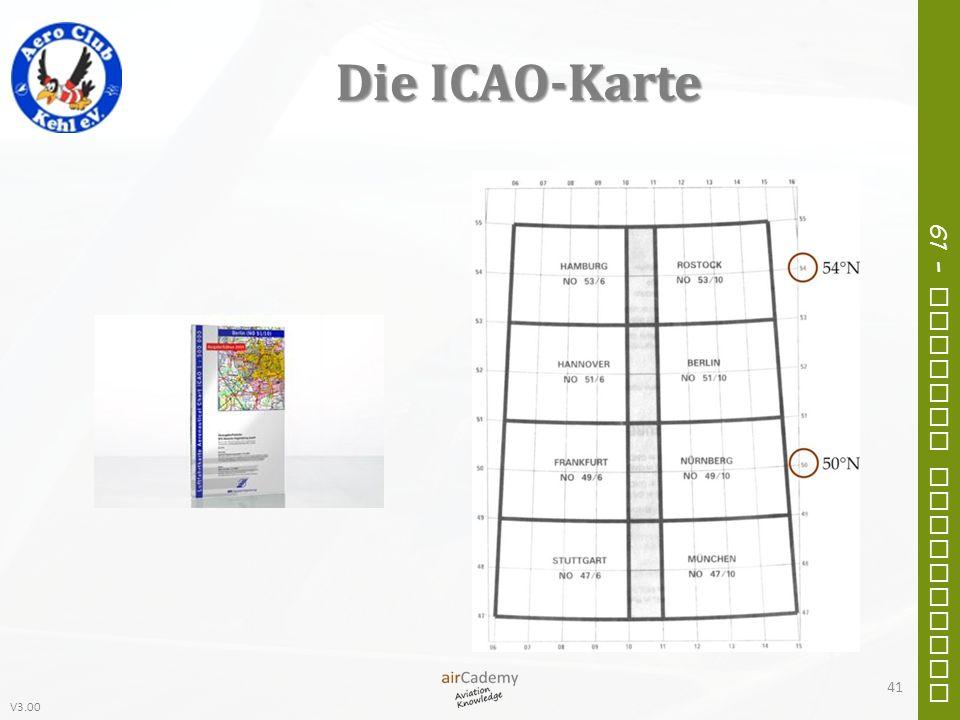 Die ICAO-Karte