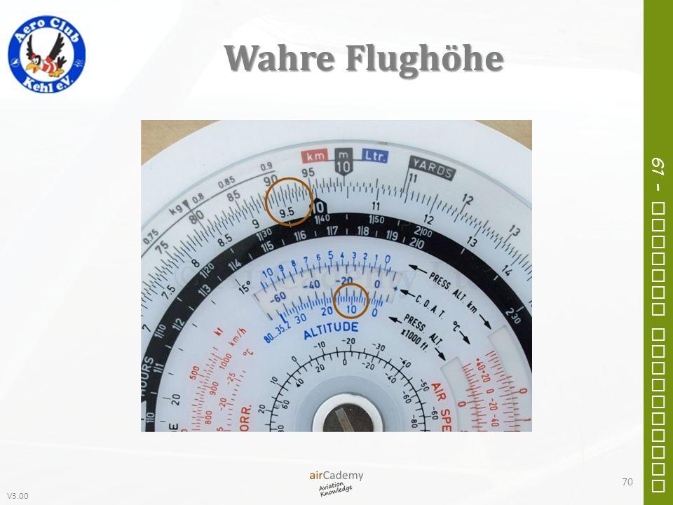 Wahre Flughöhe