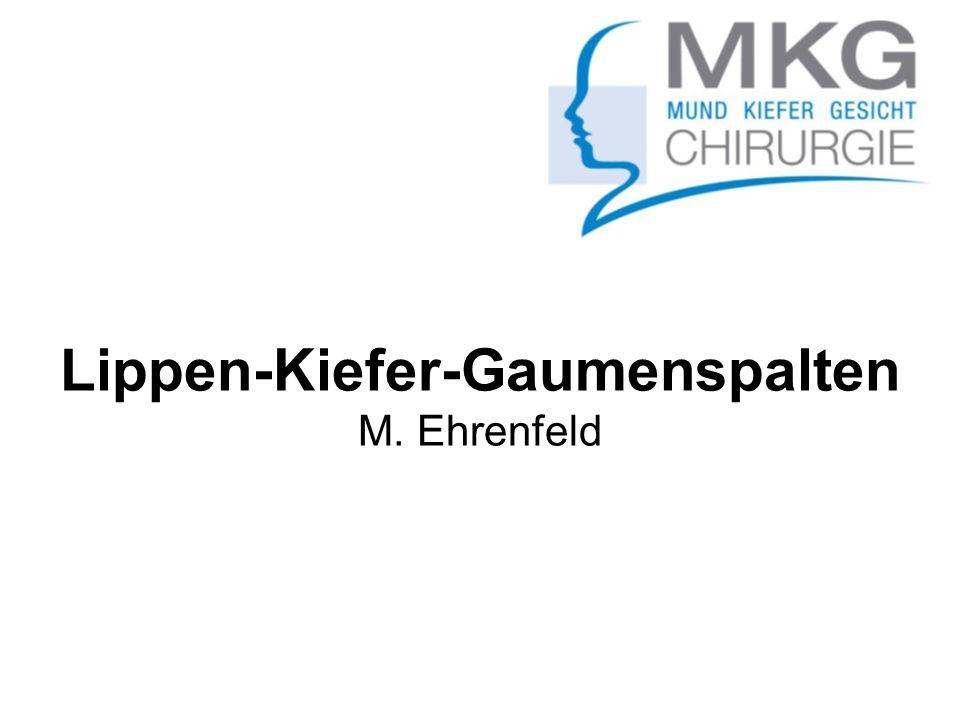 Lippen-Kiefer-Gaumenspalten M. Ehrenfeld