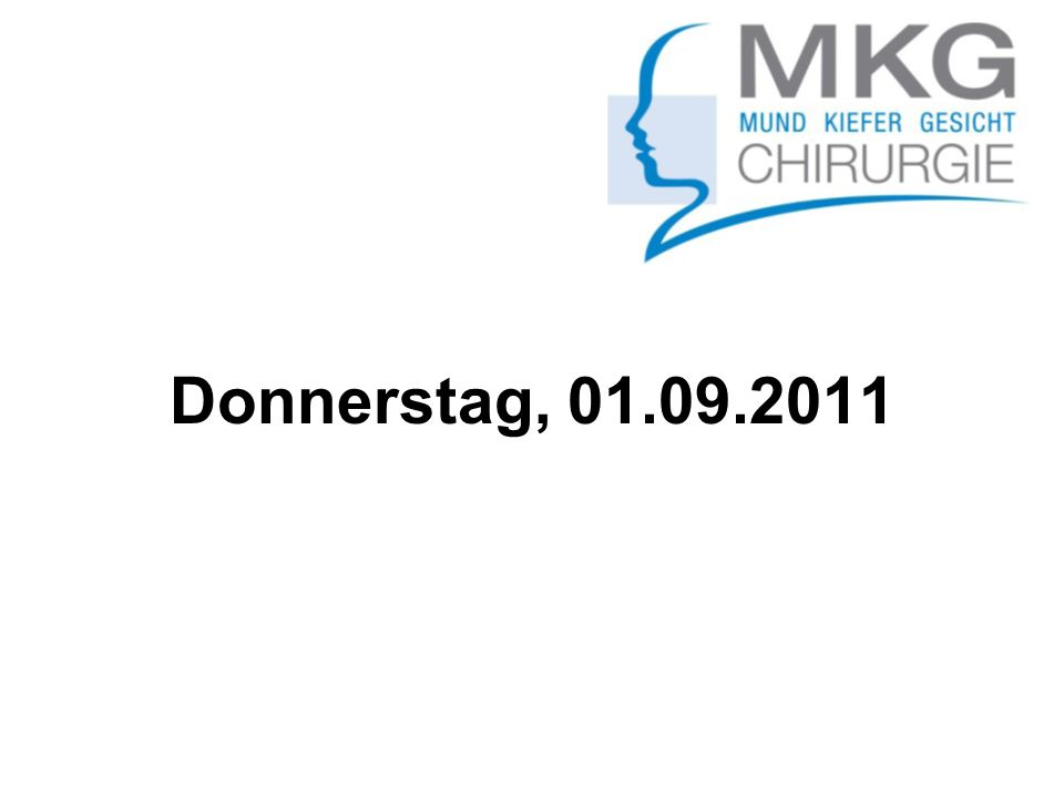 Donnerstag, 01.09.2011