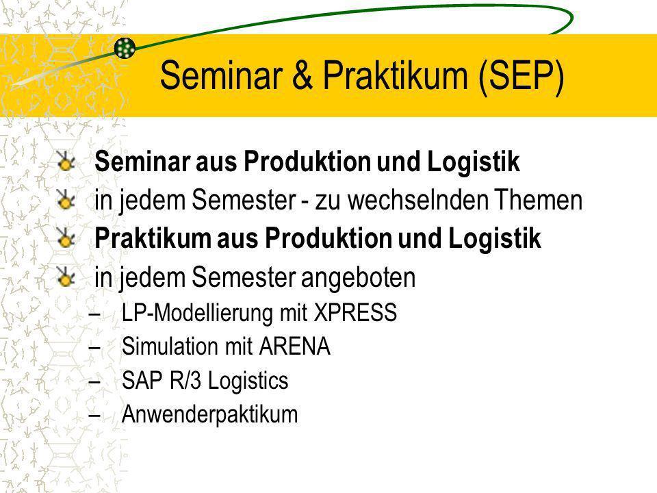 Seminar & Praktikum (SEP)
