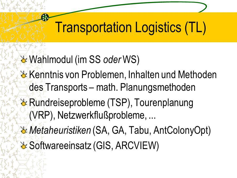 Transportation Logistics (TL)