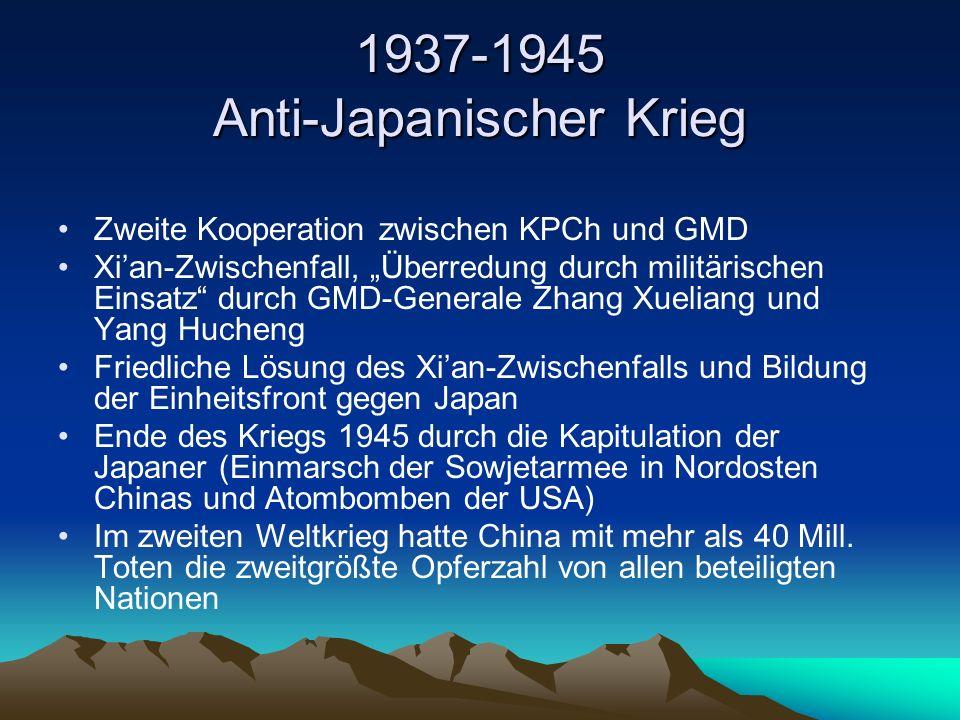 1937-1945 Anti-Japanischer Krieg