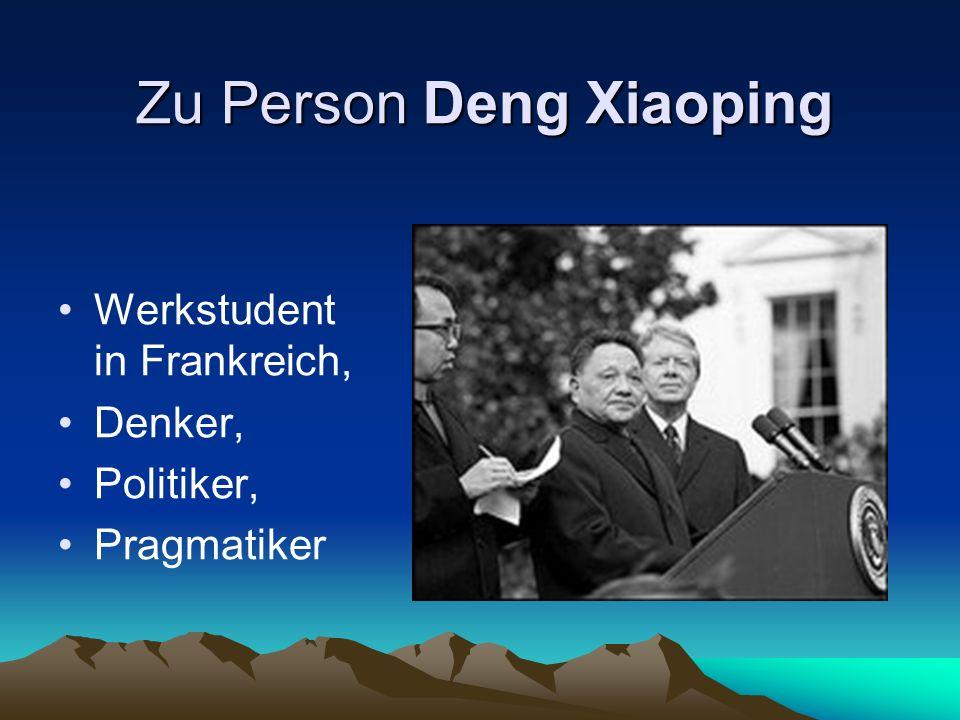 Zu Person Deng Xiaoping