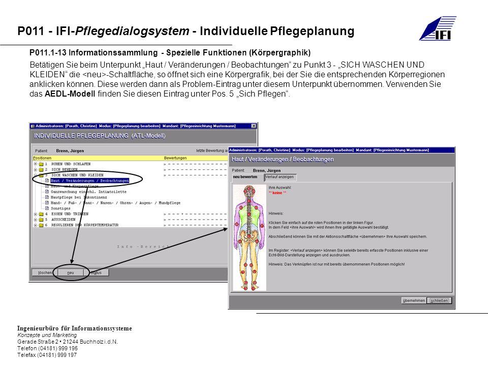 P011.1-13 Informationssammlung - Spezielle Funktionen (Körpergraphik)