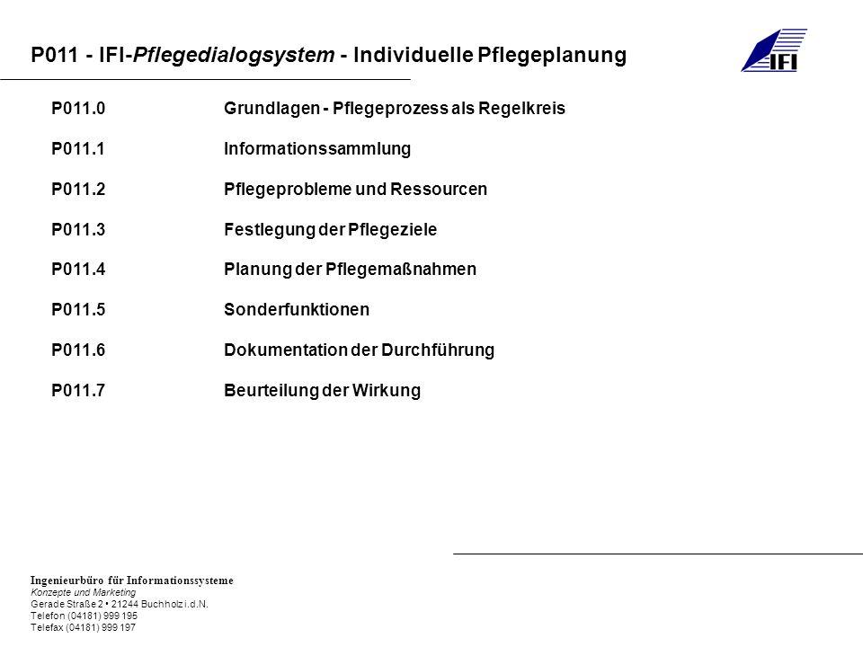 P011.0 Grundlagen - Pflegeprozess als Regelkreis