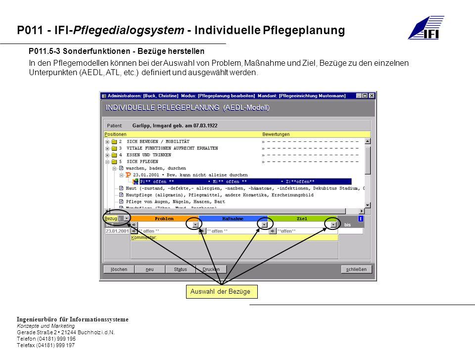 P011.5-3 Sonderfunktionen - Bezüge herstellen