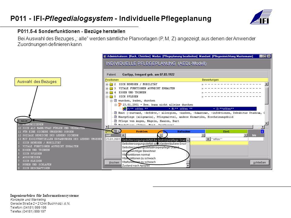 P011.5-4 Sonderfunktionen - Bezüge herstellen